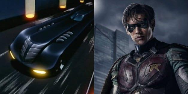 Titans Batmobile DC Universe