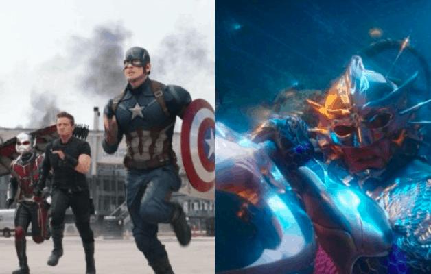 Aquaman Captain America Civil War