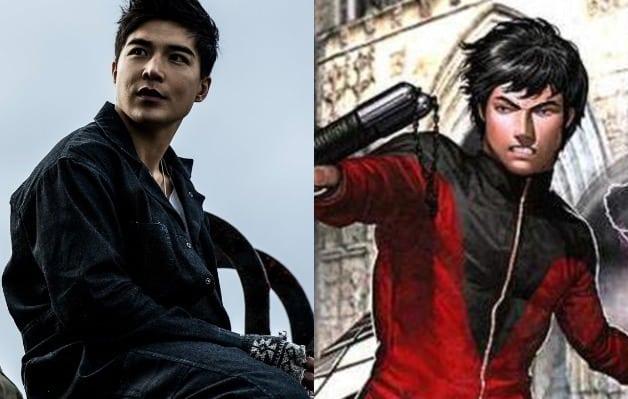 Aquaman Ludi Lin Shang-Chi