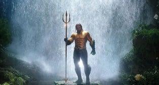 Aquaman waterfall DC Jason Momoa