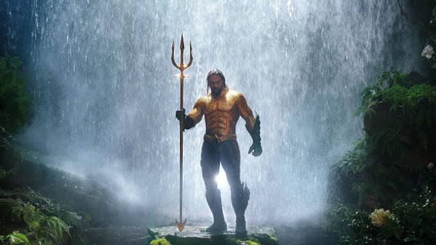 IMAX Aquaman waterfall DC Jason Momoa