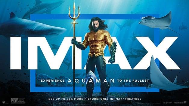 Aquaman Jason Momoa IMAX