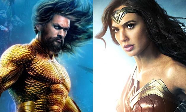 Aquaman Wonder Woman