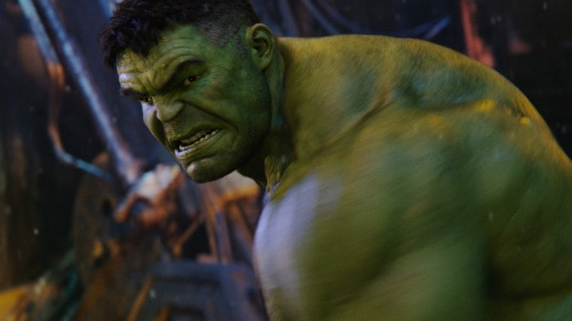 Avengers Infinity War Hulk Bruce Banner Hiding