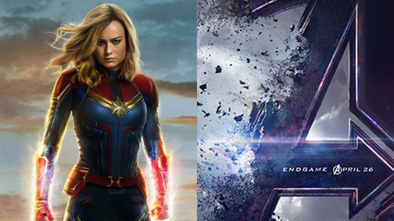 See Brie Larson S Upgraded Captain Marvel Avengers Endgame Costume Enhance your avengers costume style. endgame costume