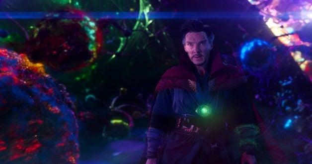Avengers: Endgame Doctor Strange Time Loop Neil Gaiman Good Omens Benedict Cumberbatch
