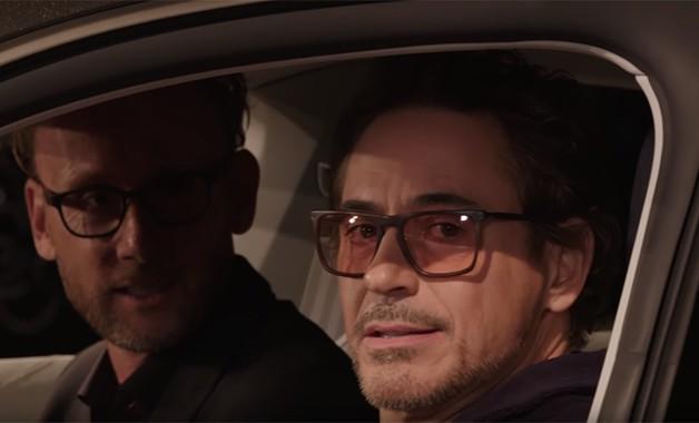 Avengers Endgame Robert Downey Jr Audi E Tron GT