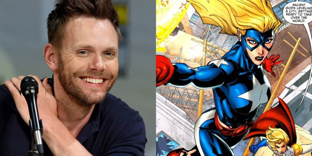 Joel Mchale Cast As Starman In Dc Universe S Stargirl Series