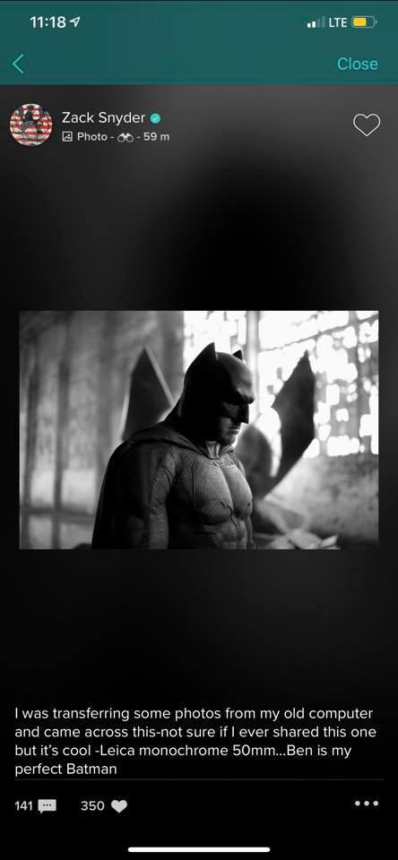 Batman Superman Zack Snyder Ben Affleck