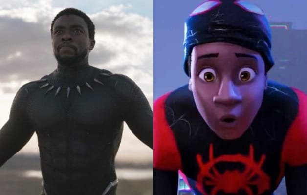 Black Panther Spider-Man Into the Spider-Verse LAFCA