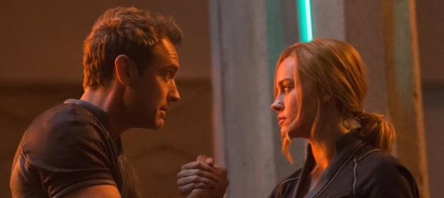 Mar-Vell Captain Marvel Brie Larson Jude Law