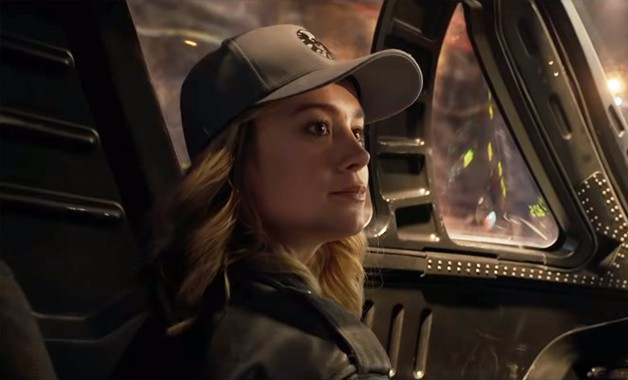 New 'Captain Marvel' Trailer Further Reveals Brie Larson's Powerful Superhero