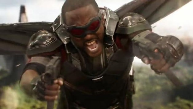 Falcon Avengers Infinity War