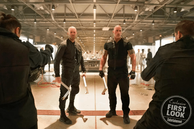 Hobbs & Shaw Rock Jason Statham