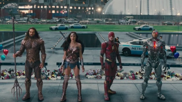 Justice League Zack Snyder Blu Ray