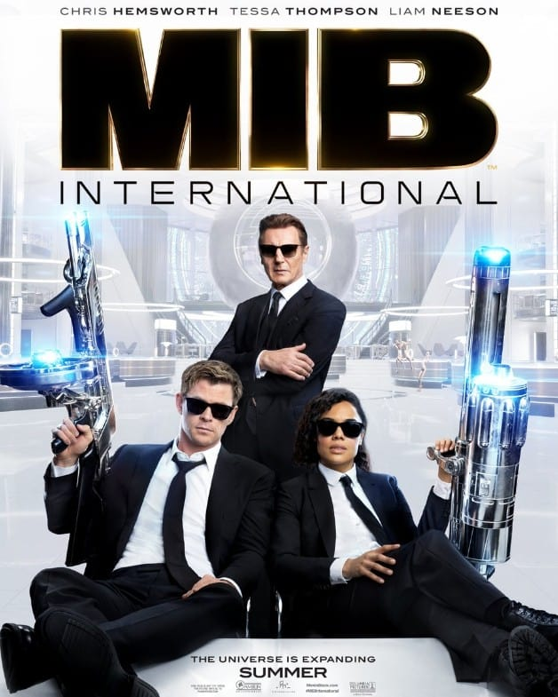 Men in Black International Chris Hemsworth Tessa Thompson Liam Neeson