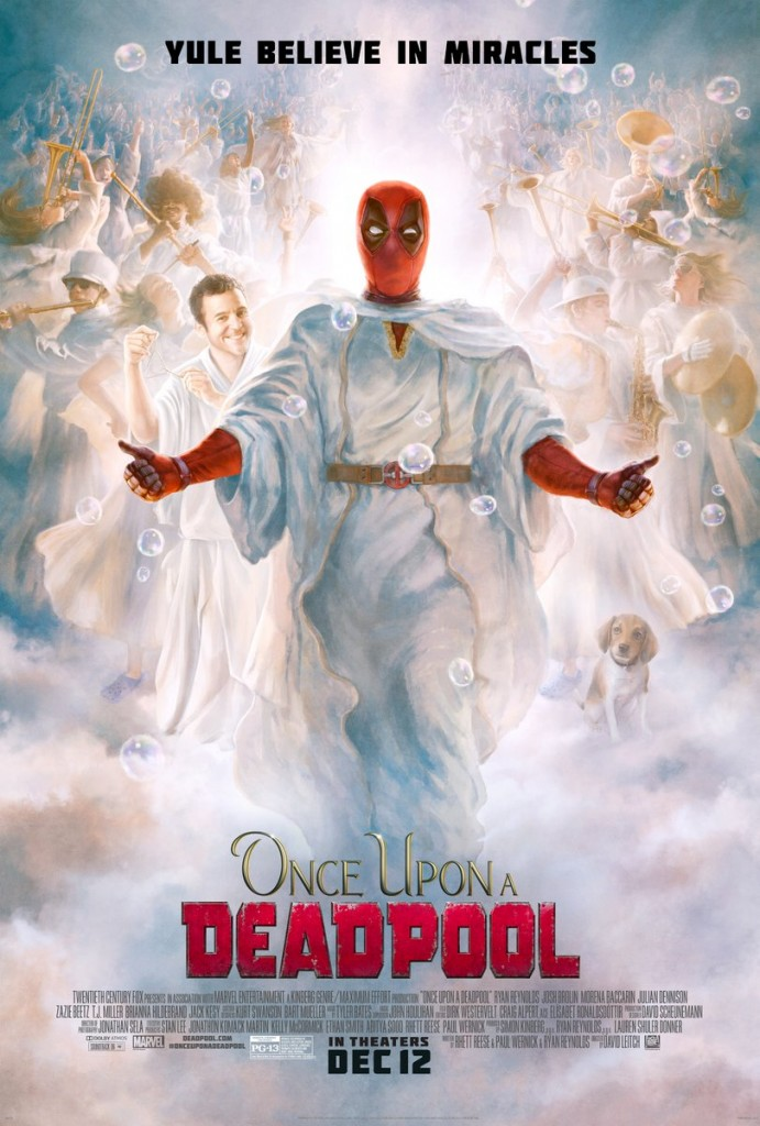 Once Upon A Deadpool Official Poster 20th Century Fox