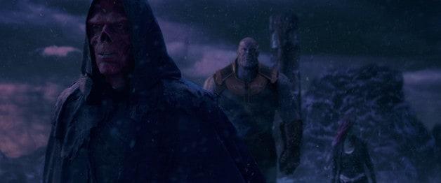 Ross Marquand Hugo Weaving Red Skull Avengers Infinity War