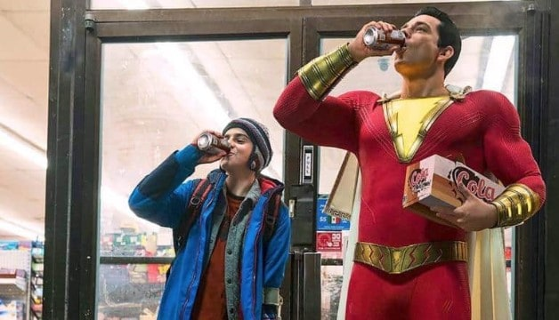 Shazam Batman Superman Sivana Ben Affleck Jack Dylan Grazer