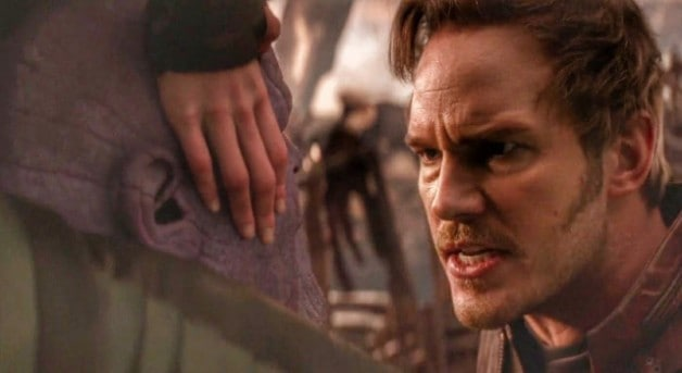 Star Lord Thanos Avengers Infinity War Marvel Studios