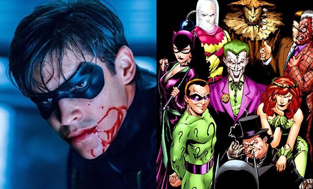 Titans Batman Joker Riddler Two-Face DC Universe