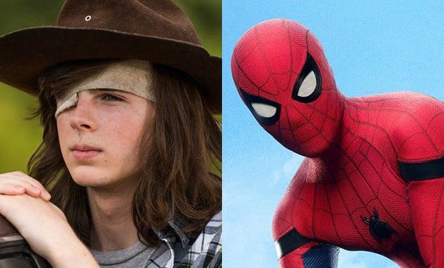 Walking Dead Spider-Man Chandler Riggs