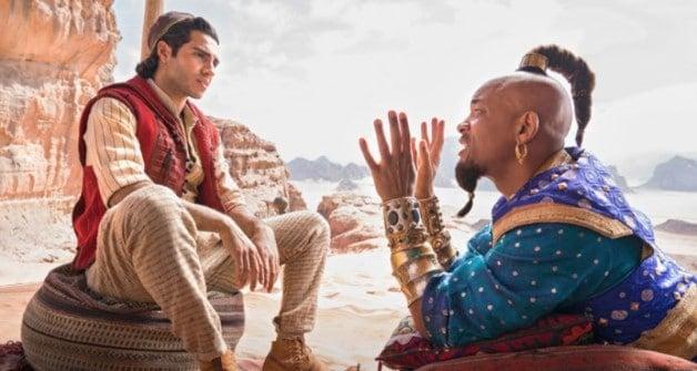 Will Smith Genie Aladdin Disney