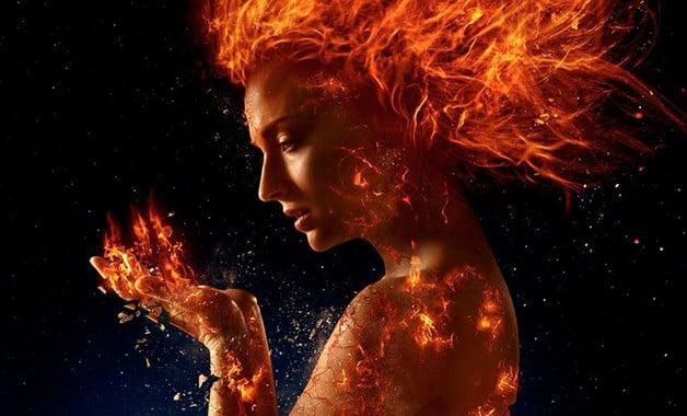 X-Men Dark Phoenix Jean Grey Marvel Fox Sophie Turner Jessica Chastain