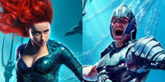 Aquaman Patrick Wilson Amber Heard