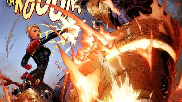 Captain Marvel Thanos Brie Larson