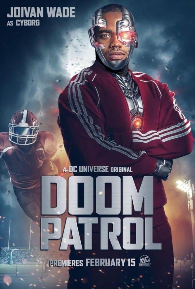 Doom Patrol Cyborg
