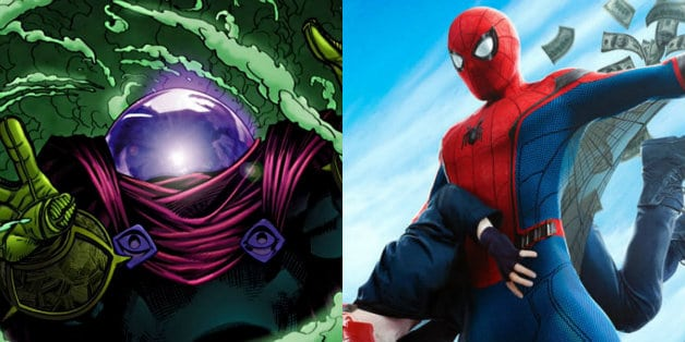 Mysterio Spider-Man longe de casa Marvel Studios Tom Holland Jake Gyllenhaal