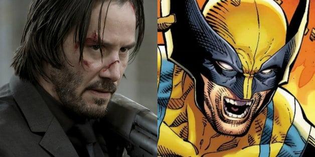 John Wick Keanu Reeves Wolverine Hugh Jackman