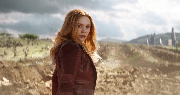 Avengers Infinity War Scarlet Witch Elizabeth Olsen