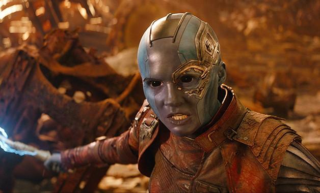 Avengers Endgame Karen Gillan Nebula Marvel Studios