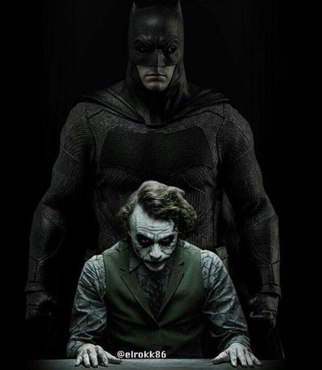 Batman Ben Affleck Joker Heath Ledger