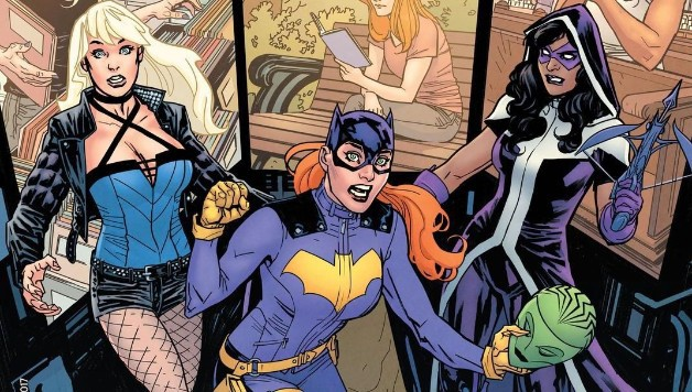 Batgirl Birds of Prey DC Oracle Black Canary Huntress