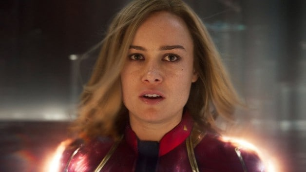 Carol Danvers Stands Tall On Captain Marvel International Poster