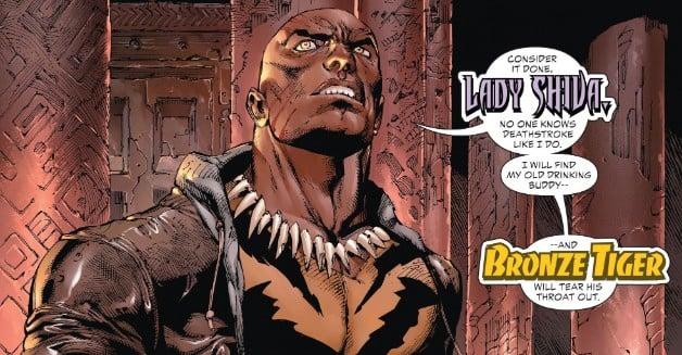 Bronze Tiger DC Comics