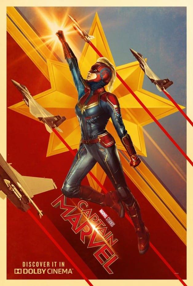 Capitão Marvel Dolby