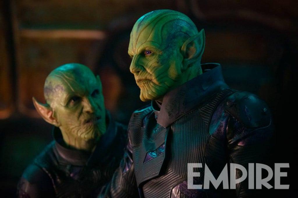 Captain Marvel Empire Skrulls Ben Mendelsohn