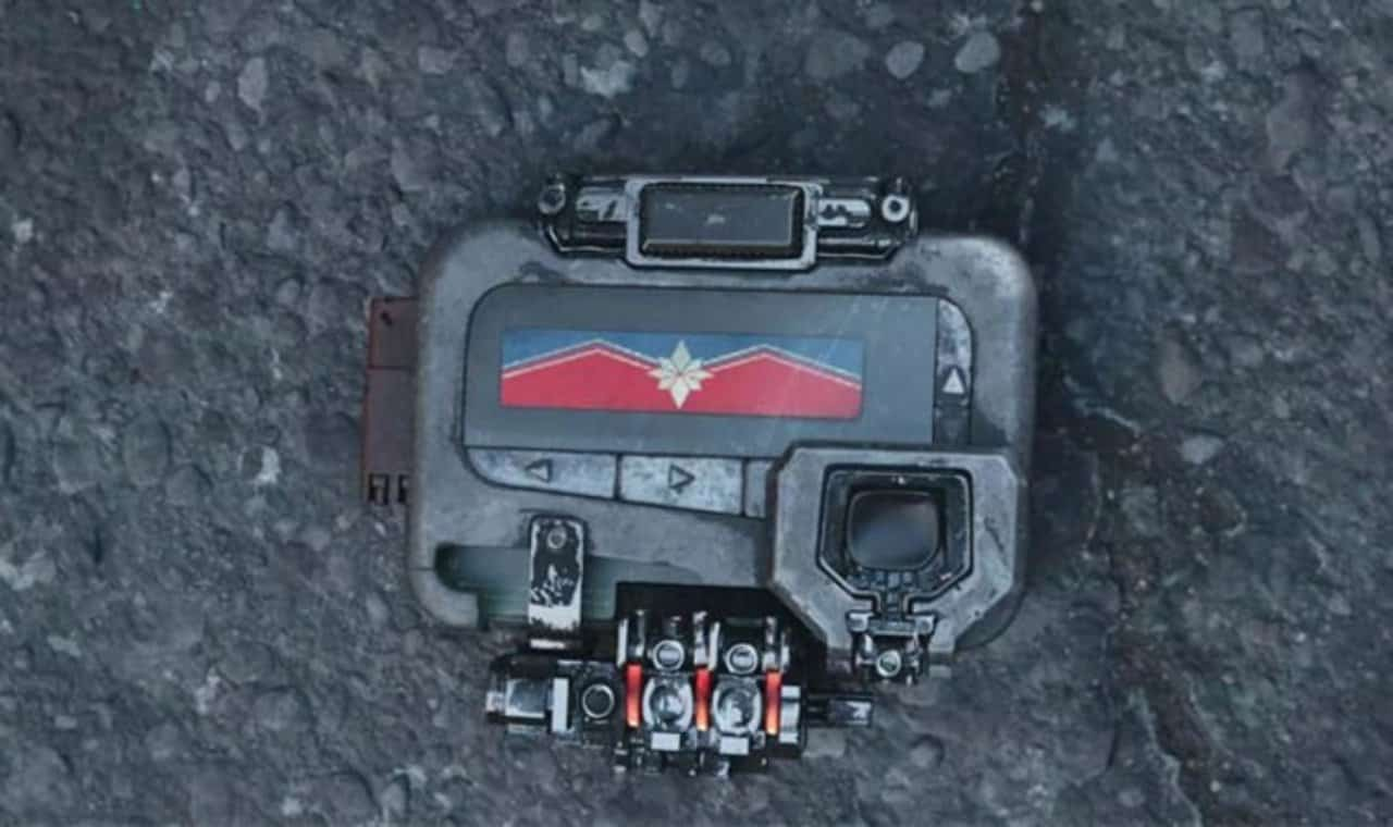 Captain Marvel Infinity War Beeper