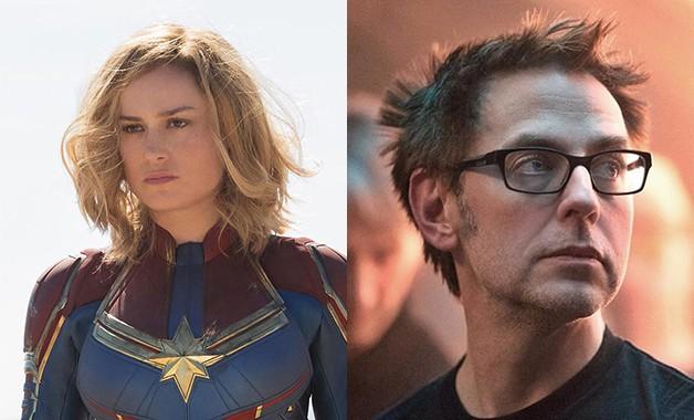 Captain Marvel James Gunn
