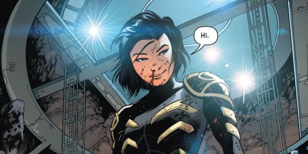 Cassandra Cain Birds of Prey DC Comics