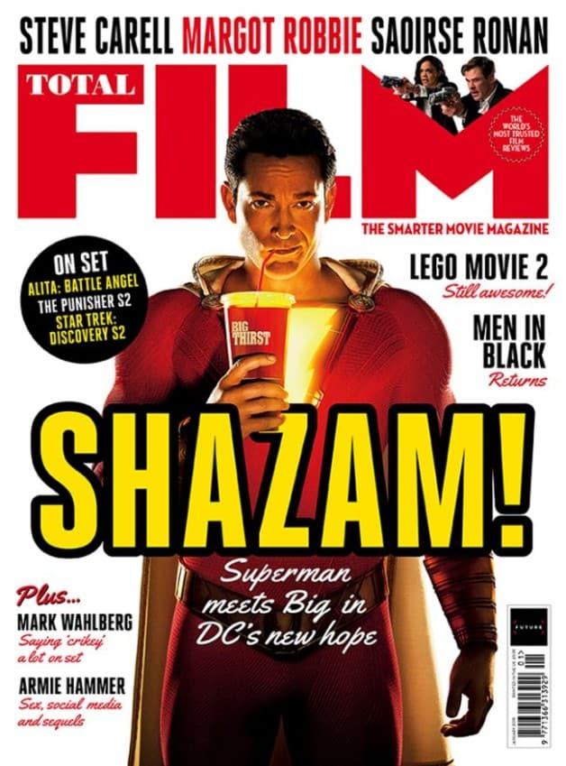 DC Shazam Zachary Levi