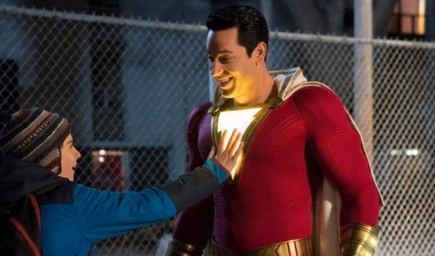 DC Zachary Levi Shazam! Jack Dylan Grazer Henry Cavill Superman