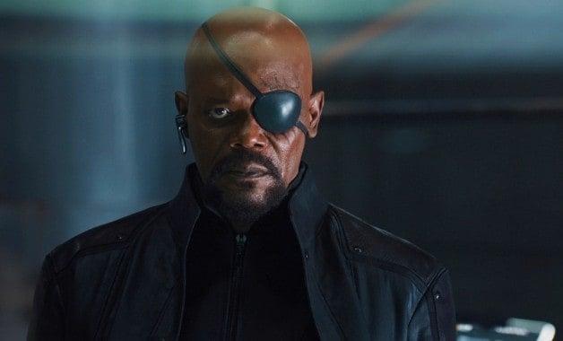 Disney Marvel Avengers Nick Fury Samuel L. Jackson Captain America Civil War