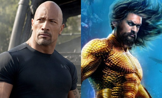 Fast and Furious Aquaman Dwayne Johnson Jason Momoa
