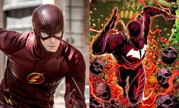 The Flash Batman Red Death DC Comics Grant Gustin Paul Wesley
