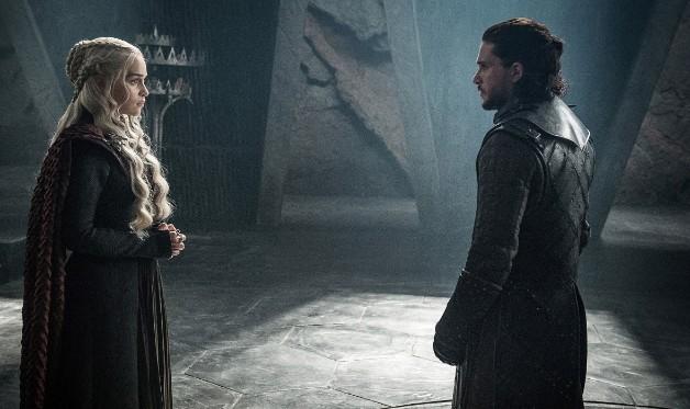 Game of Thrones HBO Kit Harrington Emilia Clarke